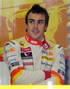 Fernando Alonso on Friday's practice day at the Nurburgring