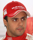Felipe Massa on Friday's practice day at the Chinese Grand Prix