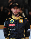 Nick Heidfeld in his new Renault kit