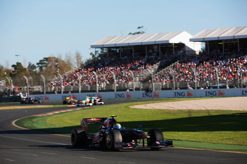 Sebastien Buemi in action during the Australian Grand Prix