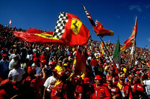 Italian fans at Monza