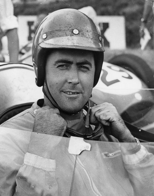Jack Brabham at Brands Hatch