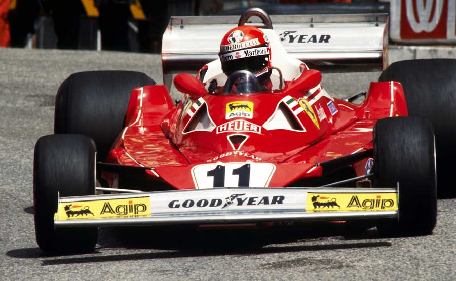 Niki Lauda won his second title with Ferrari in 1977