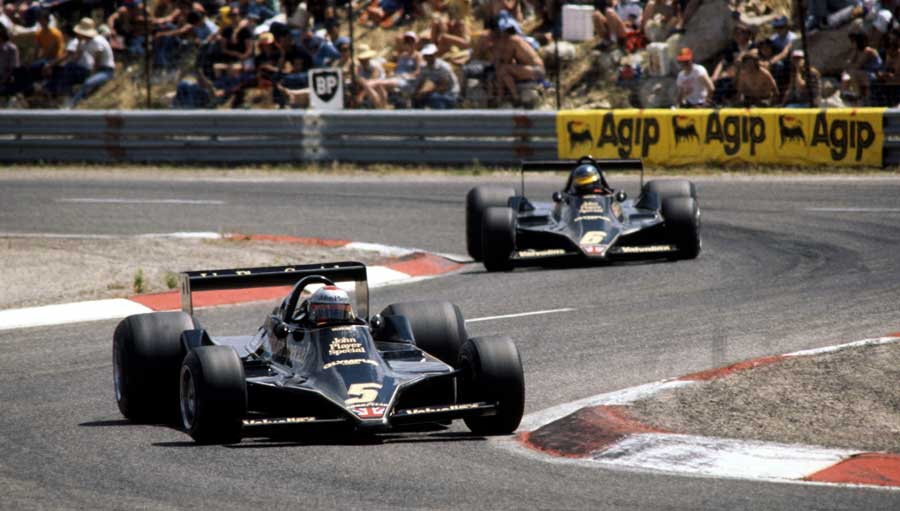 Mario Andretti and Ronnie Peterson dominated in 1978