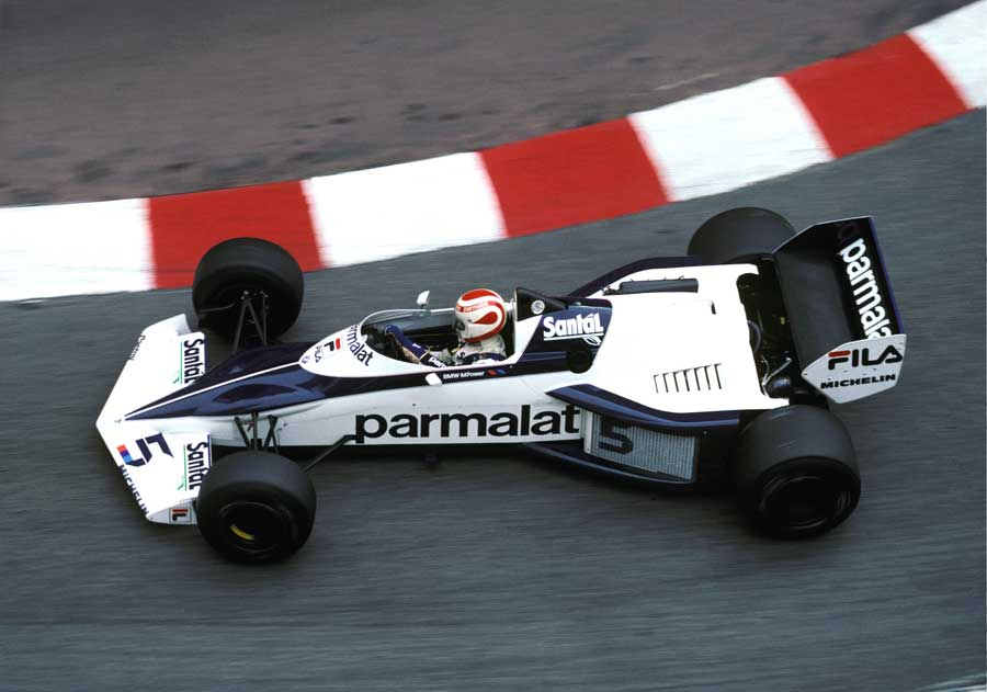 Nelson Piquet became the first driver to win in a turbo-powered car