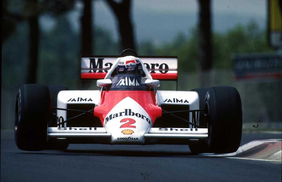 Alain Prost became the first French world champion in 1985