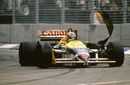Nigel Mansell lost the 1986 championship when his tyre blew