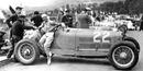 Helle Nice in her Alfa Romeo Monza 8C