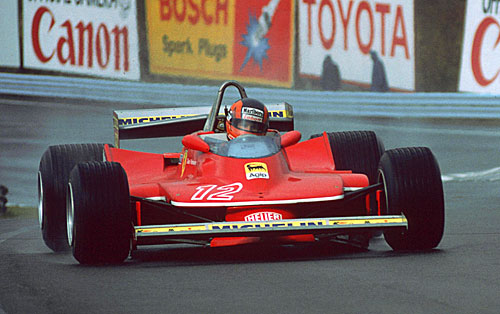 Gilles Villeneuve was a master in wet conditions