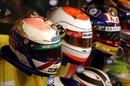Jos Verstappen's helmet from his pit lane fire in 1994
