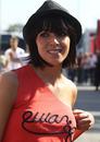Fernando Alonso's wife Raquel del Rosario