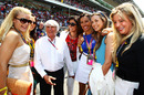 What is that attracts women to the 80-year-old multi-millionaire Bernie Ecclestone?