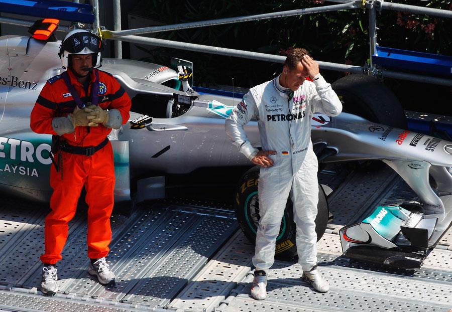 10157 - Michael Schumacher blames set-up change