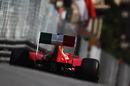 Felipe Massa heads down the hill to Mirabeau