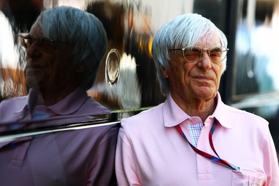 10195 - Ecclestone backs Bahrain Grand Prix go-ahead