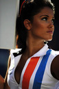 A Tag Heuer grid girl