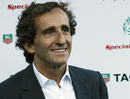 Alain Prost at the Amber Lounge Fashion Event in Monaco on Friday night