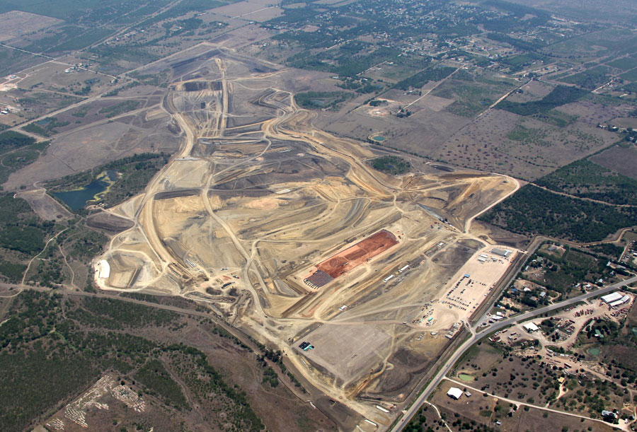 Construction continues on the new Circuit of the Americas