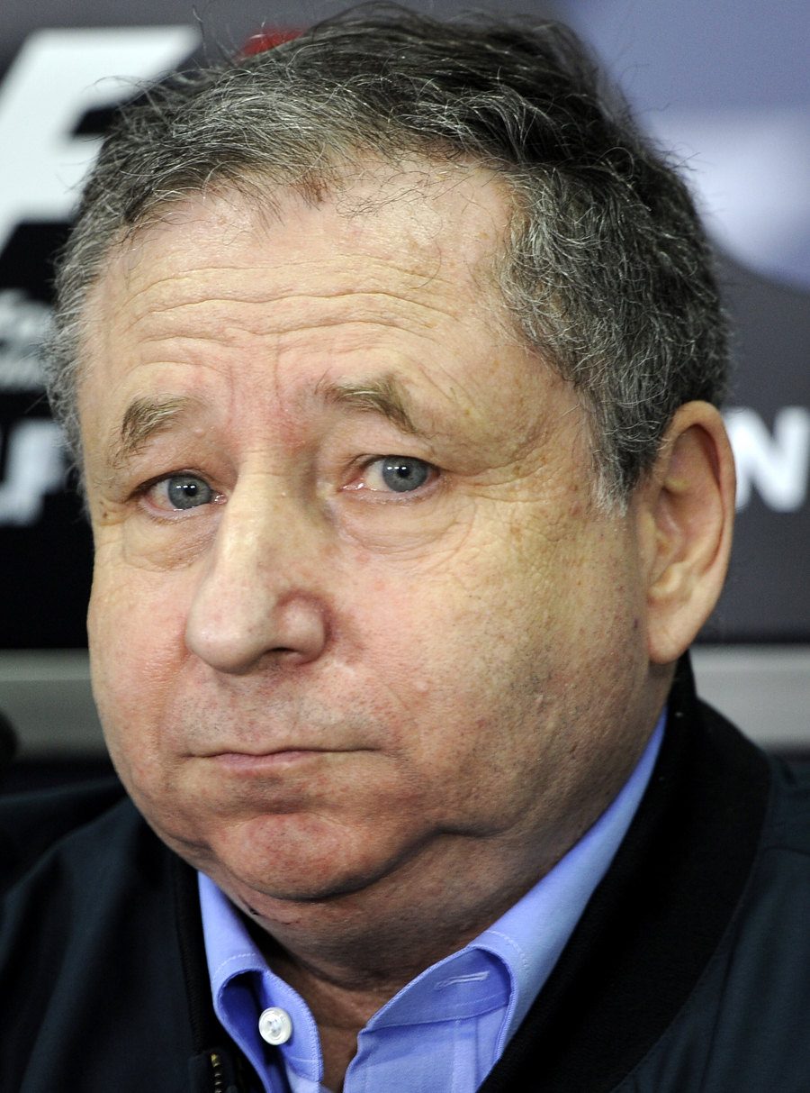 Jean Todt ponders a media question