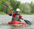 Mark Webber enjoys a spot of kayaking ahead of the grand prix weekend