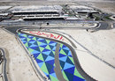 The Bahrain International Circuit from above