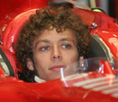 Valentino Rossi impressed Ferrari when he tested for them in 2006