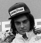 The podium for the International Formula 3 race in Austria won by Gianfranco Brancatelli