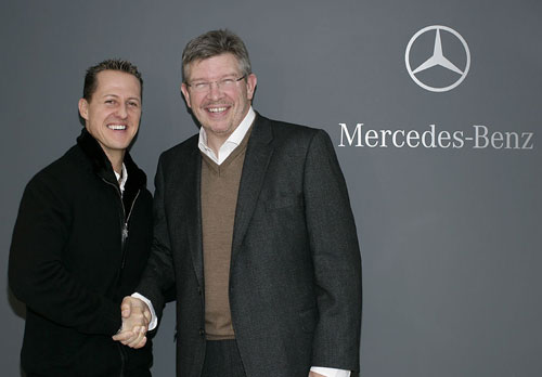 Michael Schumacher and Ross Brawn will be reunited at Mercedes