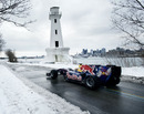 Sebastien Buemi drove an F1 car on closed public roads outside Montreal
