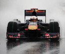 Jaime Alguersuari braves wet conditions