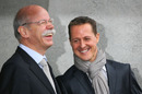 CEO of Daimler Dieter Zetsche and Michael Schumacher