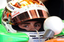 Adrian Sutil focuses ahead of qualifying