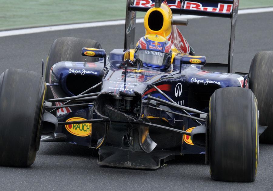 11188 - Webber takes responsibility for crash