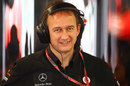 McLaren managing director Jonathan Neale in the paddock on Friday