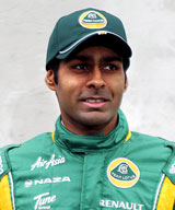 Karun Chandhok, Lotus, portrait