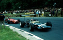 Jo Siffert holds off Chris Amon on his way to victory