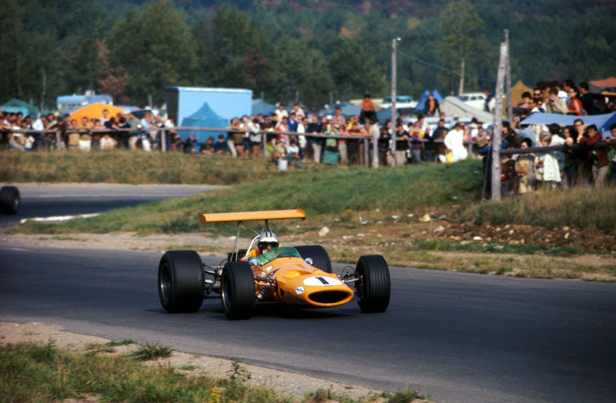 Denny Hulme on his way to his second successive victory