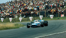 Jackie Stewart has a clear track en route to his third race win of the season