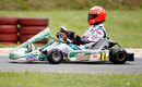 Michael Schumacher during a race to celebrate 50 years of the Kart Club Kerpen