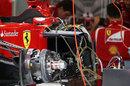 Sidepod detail of the Ferrari 150th Italia
