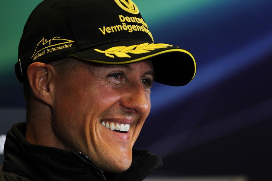 11402 - Schumacher has 'not many regrets'