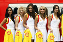 Grid girls at Spa