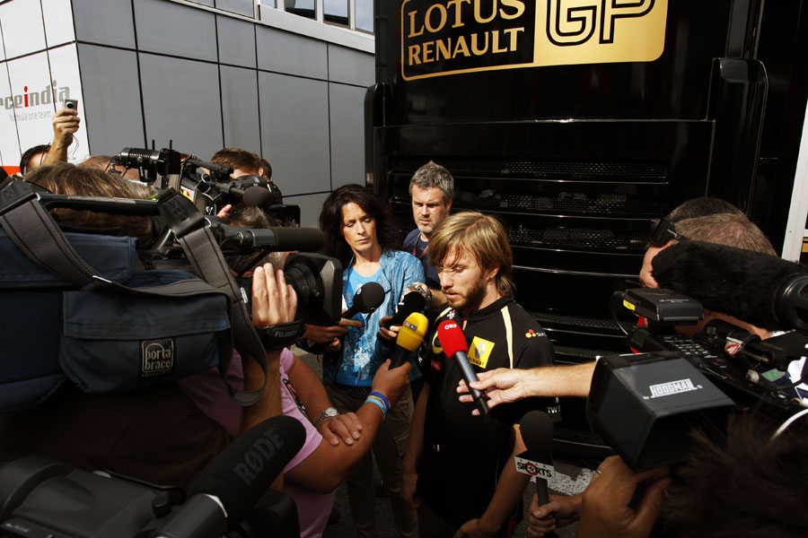 11547 - Heidfeld and Renault settle out of court