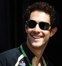 A relaxed Bruno Senna on Friday