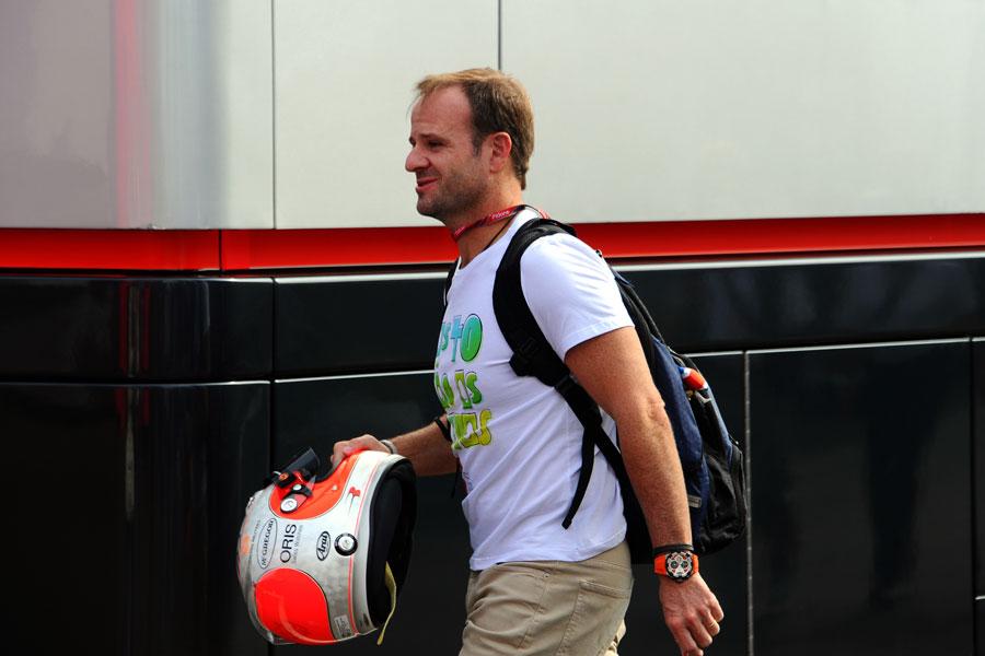 11609 - Barrichello to test IndyCar