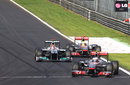 Jenson Button puts clear air between himself and the battle between Michael Schumacher and Lewis Hamilton