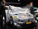 Nico Rosberg and Michael Schumacher unveil the new DTM Mercedes C-Coupe
