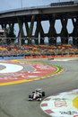 Daniel Ricciardo threads his way through turn three
