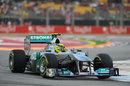 Nico Rosberg attacks turn three