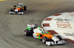 Paul di Resta and Adrian Sutil gave Force India its best points haul ...